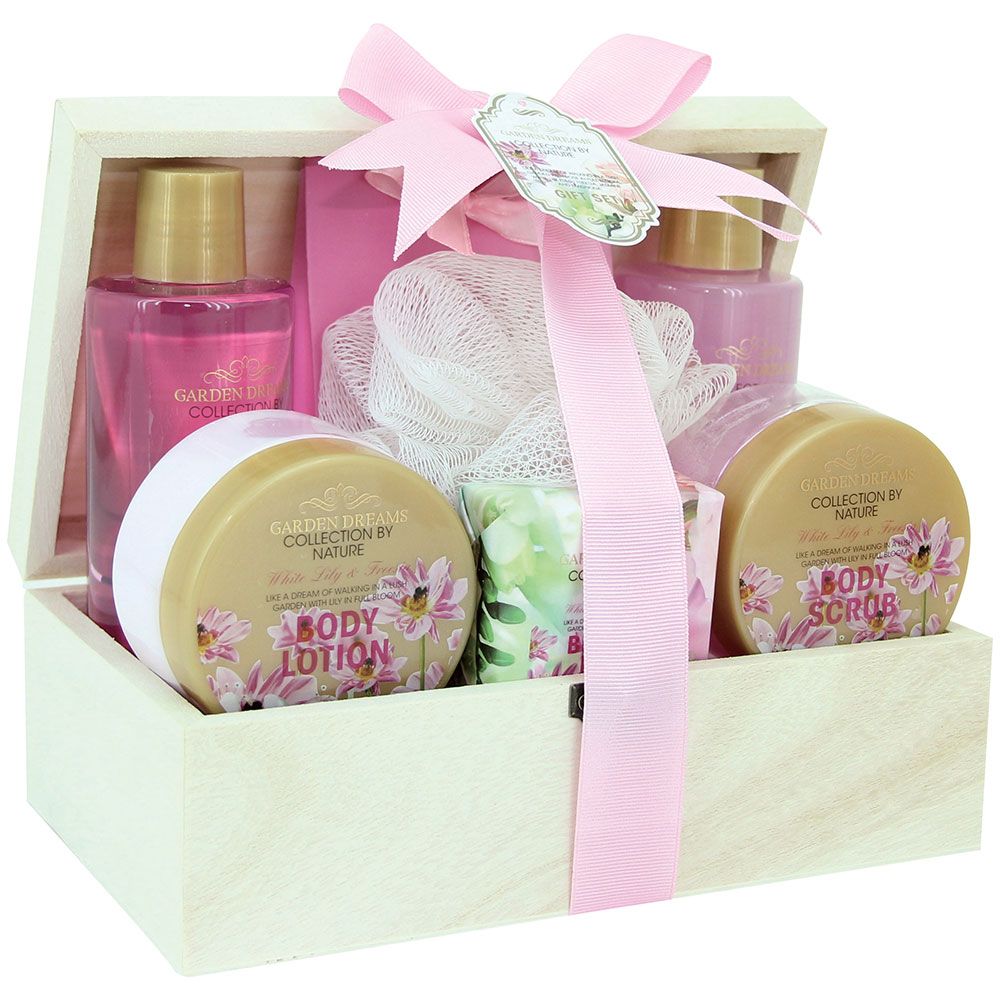 Gloss Coffret de Bain Garden Dreams Lys et Freesia 7 Pcs