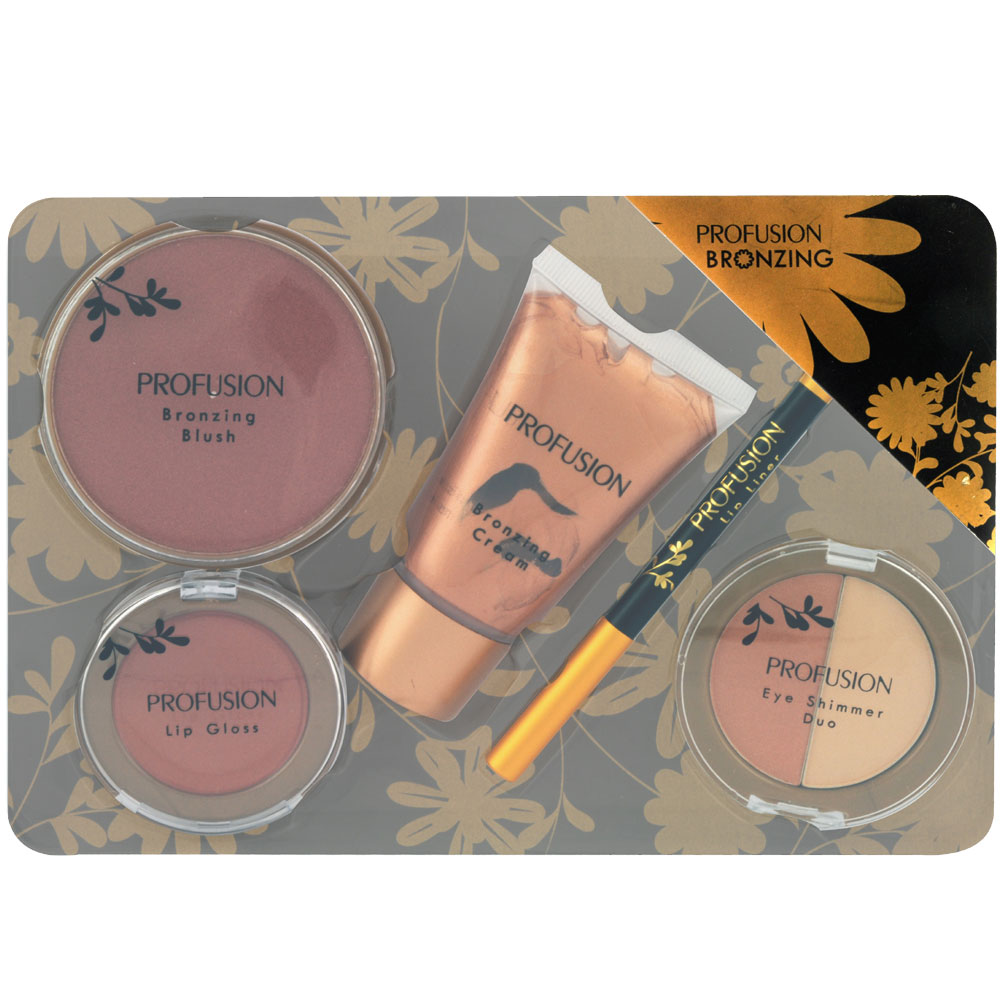 Set de Maquillage - Bronzing - 6 Pcs