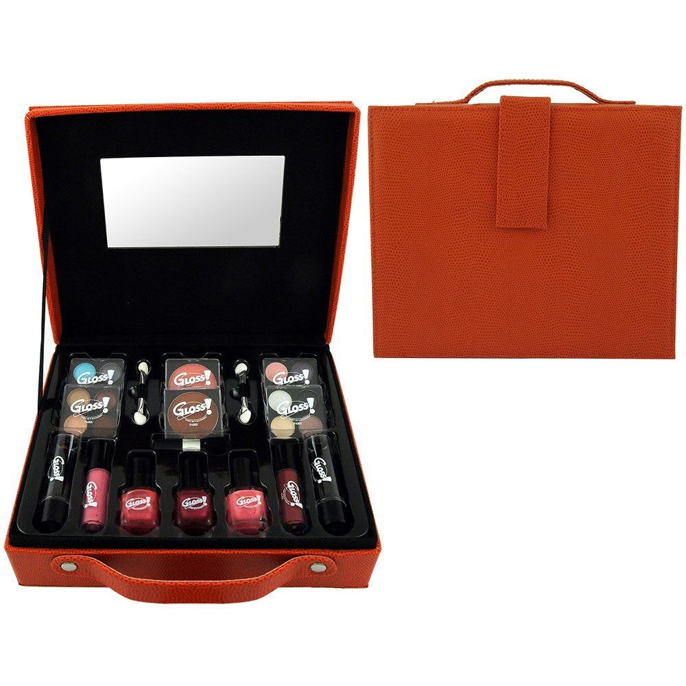 Mallette de Maquillage - Fashion Week Orange - 27 Pcs