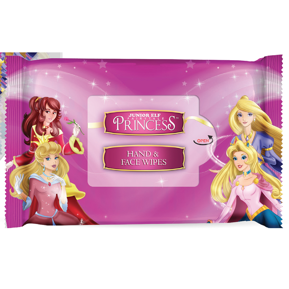 Lingettes visage et mains - Junior Elf Fairytale Princess - Disney